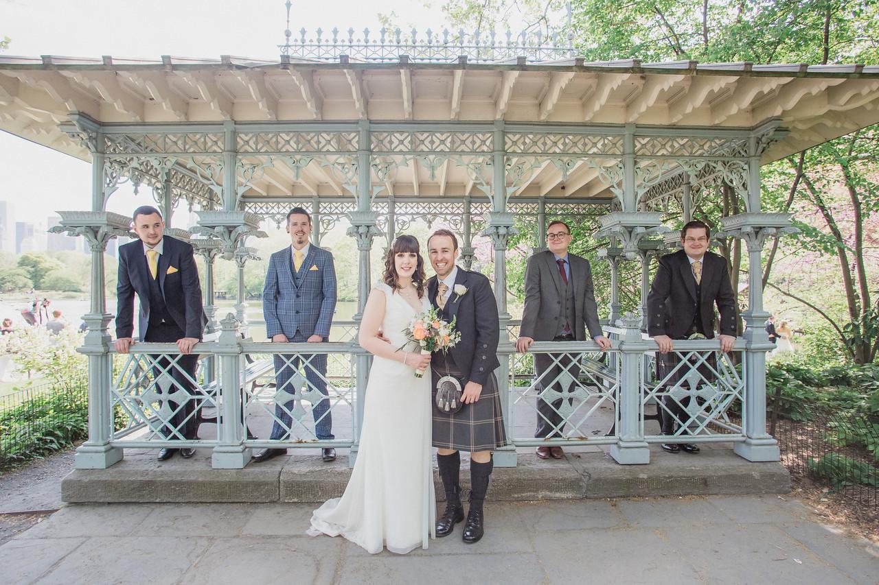 Central Park Wedding - Gary & Kirsty-138