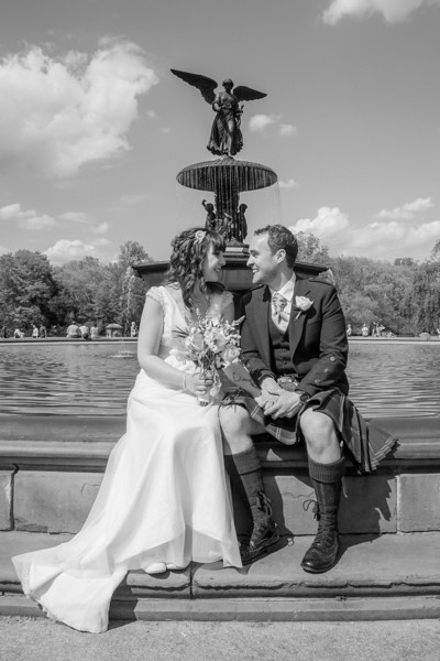 Central Park Wedding - Gary & Kirsty-146