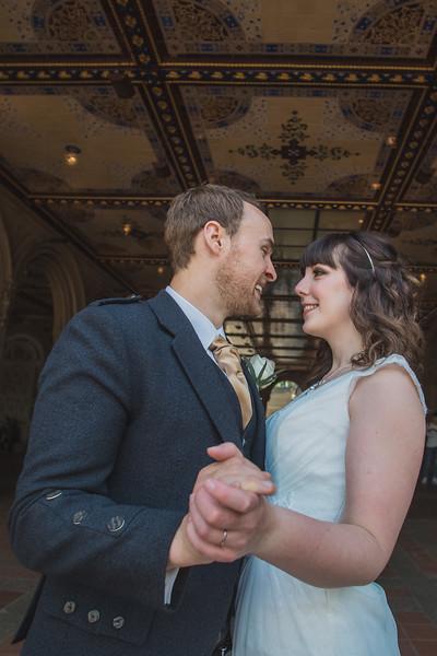 Central Park Wedding - Gary & Kirsty-161