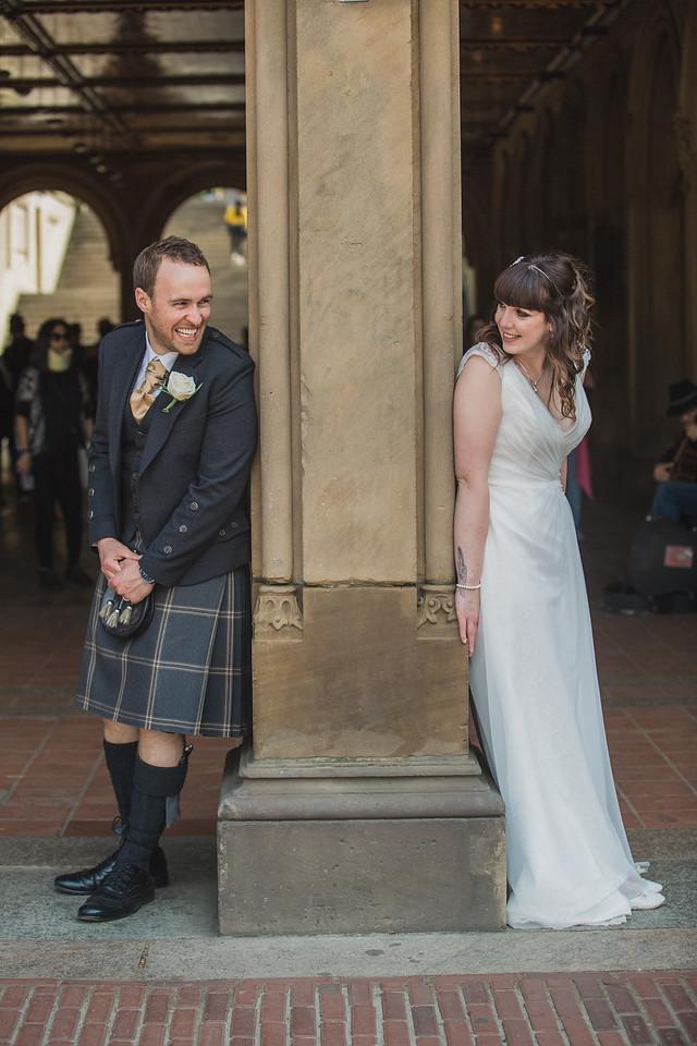 Central Park Wedding - Gary & Kirsty-172