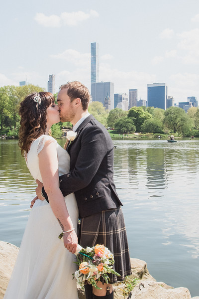 Central Park Wedding - Gary & Kirsty-107