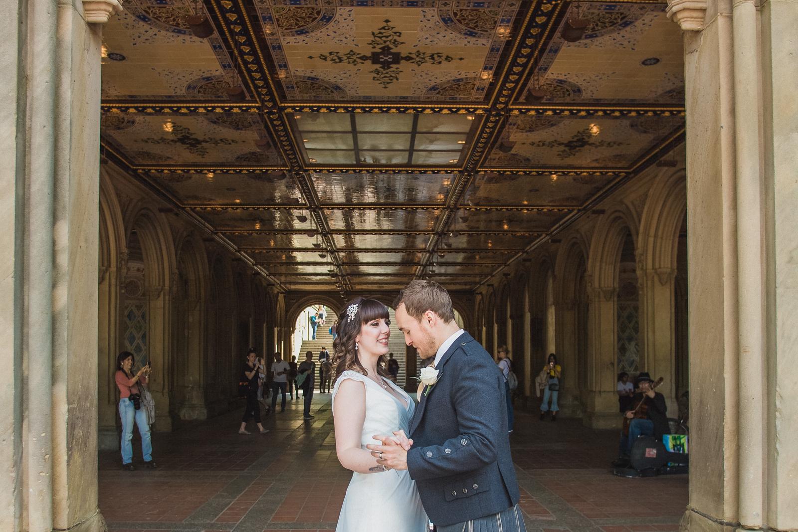 Central Park Wedding - Gary & Kirsty-157