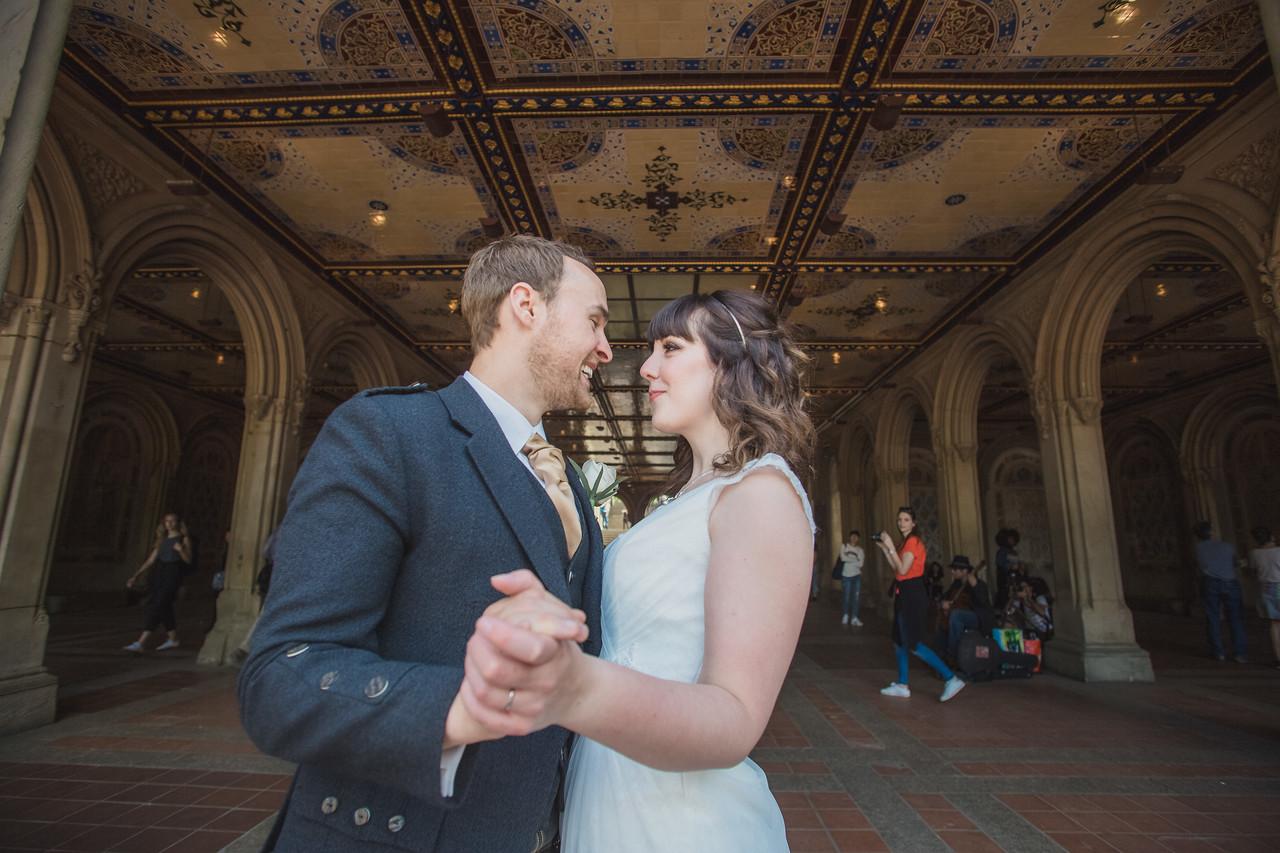 Central Park Wedding - Gary & Kirsty-158