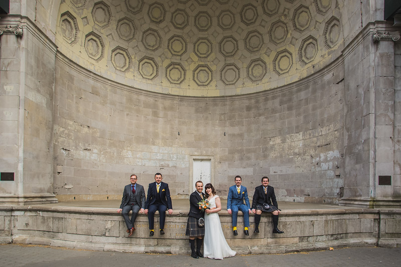 Central Park Wedding - Gary & Kirsty-208