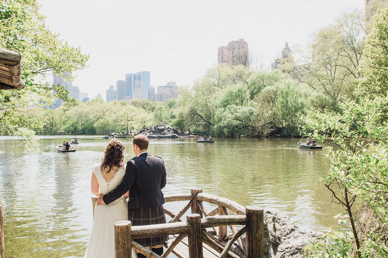 Central Park Wedding - Gary & Kirsty-100