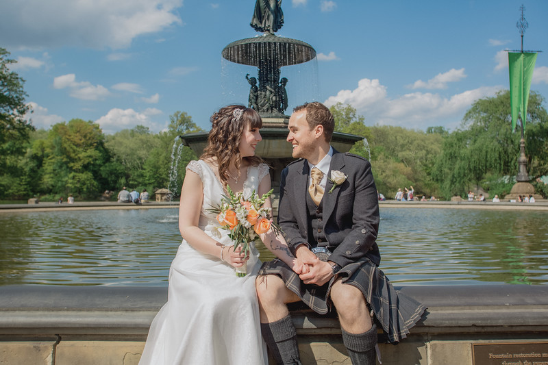 Central Park Wedding - Gary & Kirsty-148