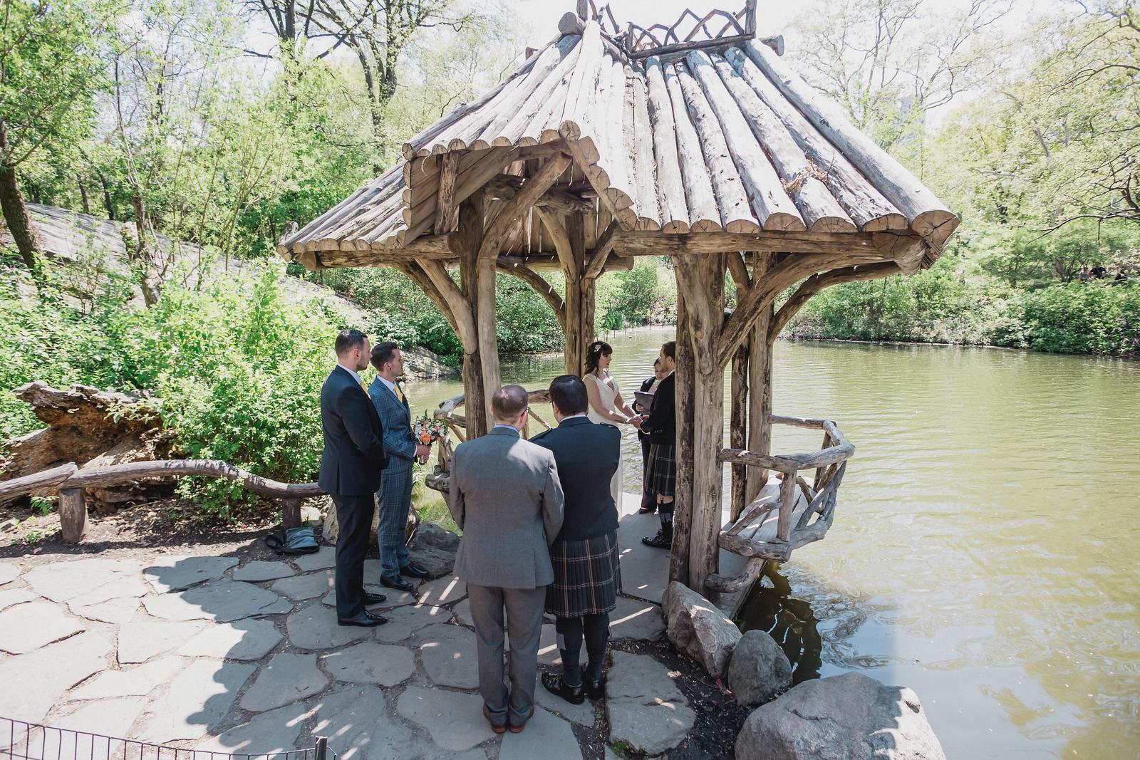Central Park Wedding - Gary & Kirsty-7