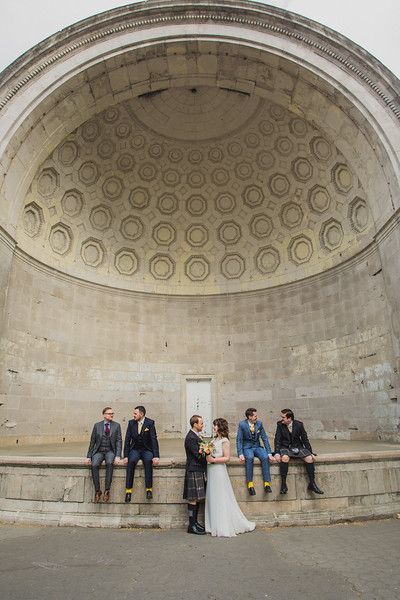Central Park Wedding - Gary & Kirsty-213