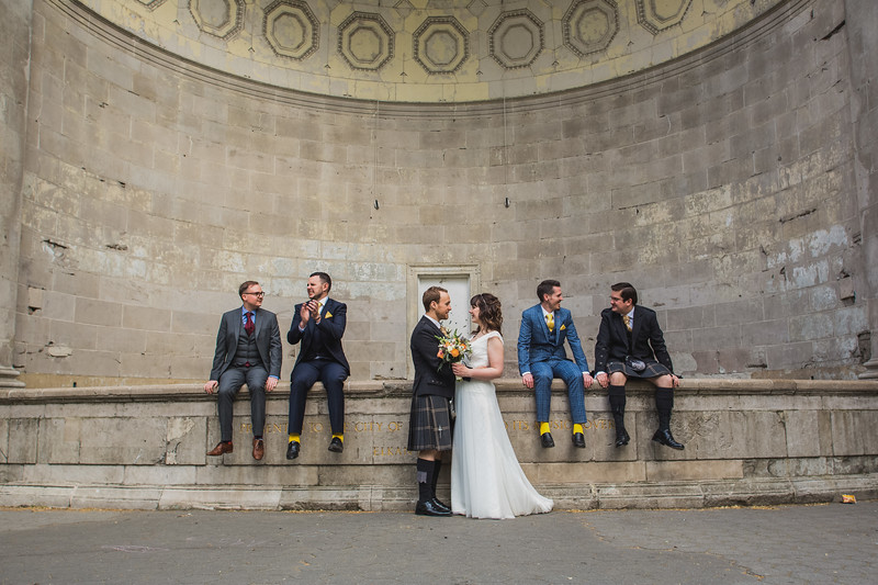 Central Park Wedding - Gary & Kirsty-212
