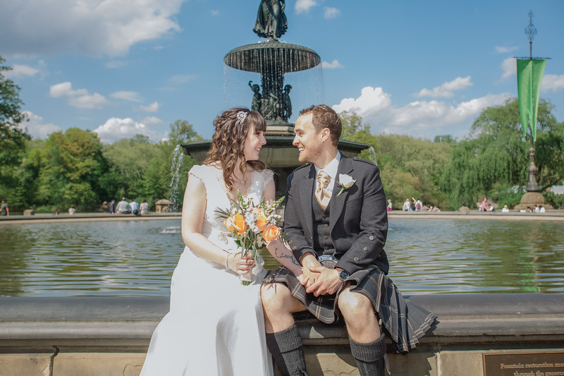 Central Park Wedding - Gary & Kirsty-147