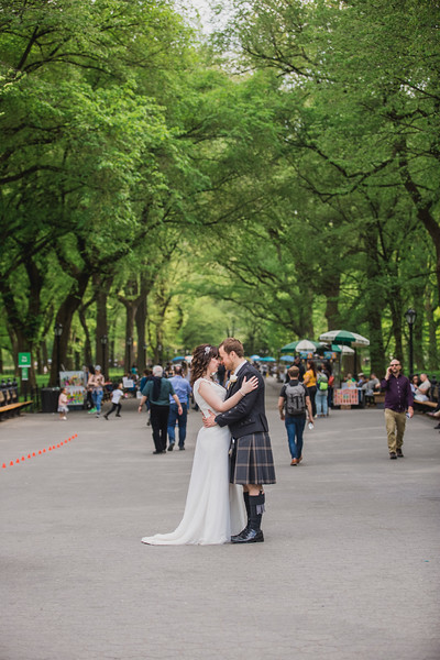 Central Park Wedding - Gary & Kirsty-191