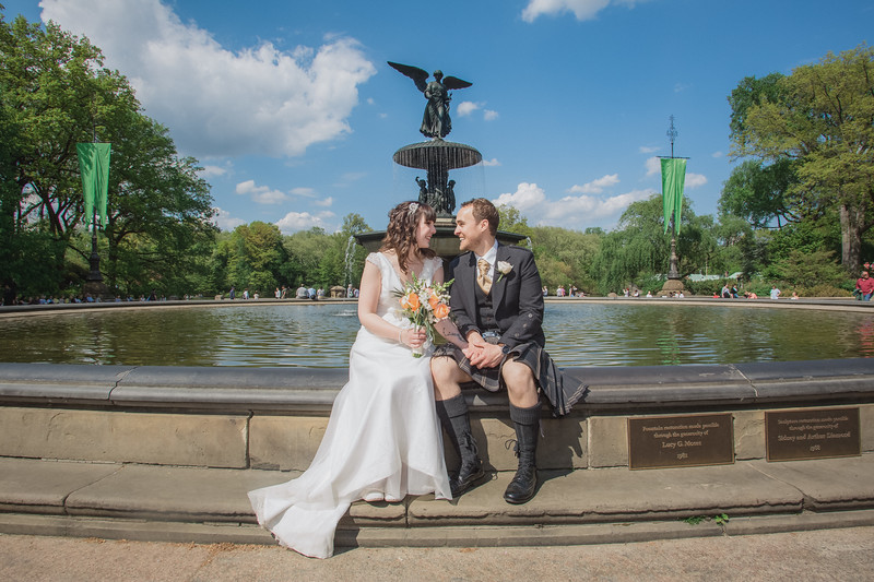 Central Park Wedding - Gary & Kirsty-145