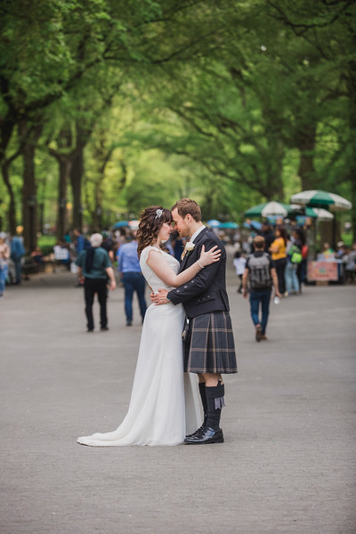 Central Park Wedding - Gary & Kirsty-193