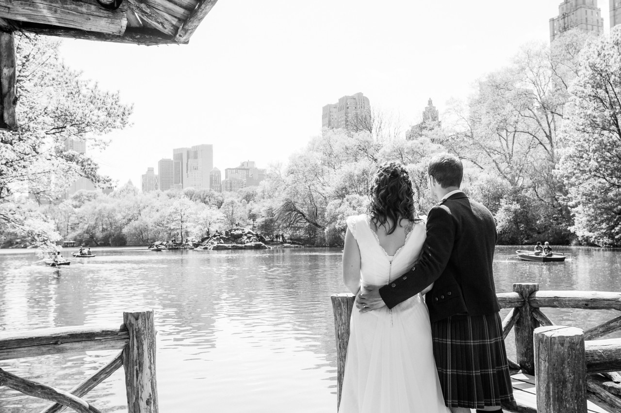 Central Park Wedding - Gary & Kirsty-101