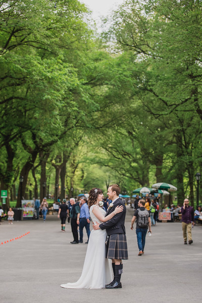 Central Park Wedding - Gary & Kirsty-190