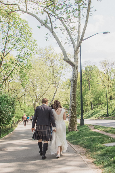Central Park Wedding - Gary & Kirsty-142