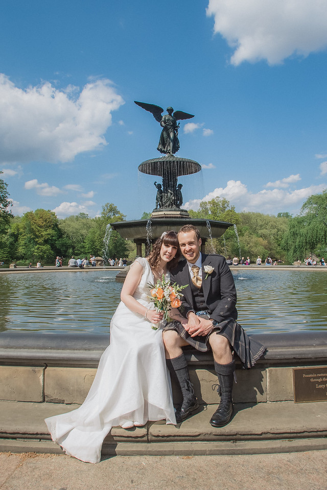 Central Park Wedding - Gary & Kirsty-144