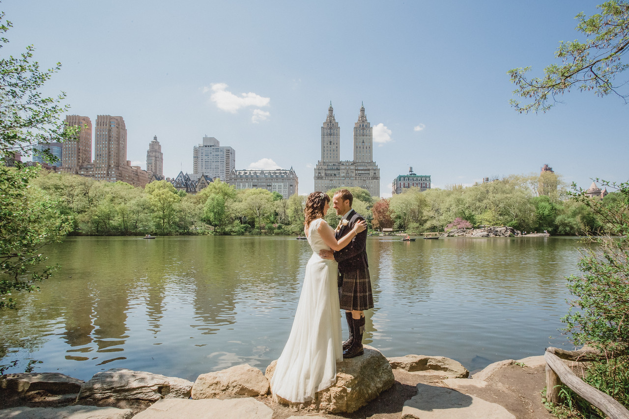 Central Park Wedding - Gary & Kirsty-56