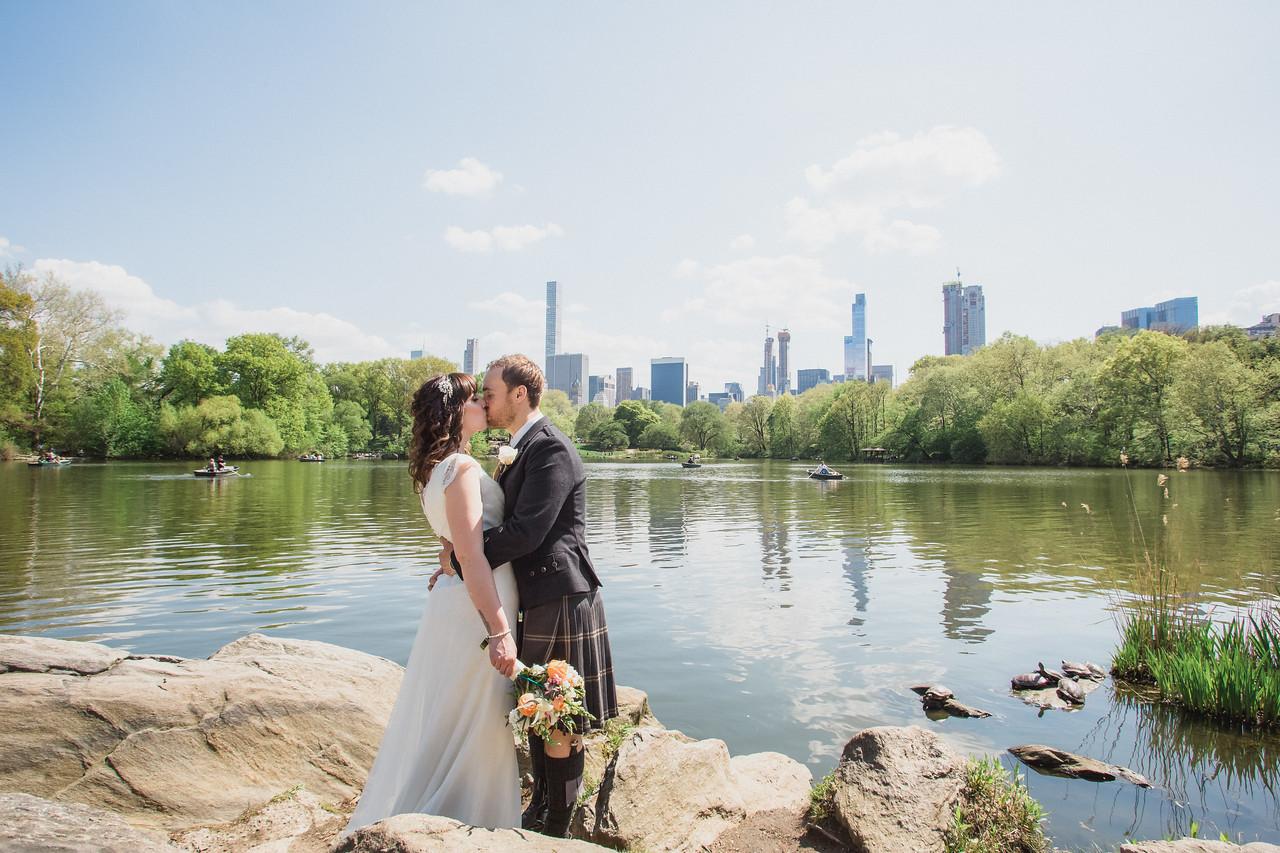 Central Park Wedding - Gary & Kirsty-108