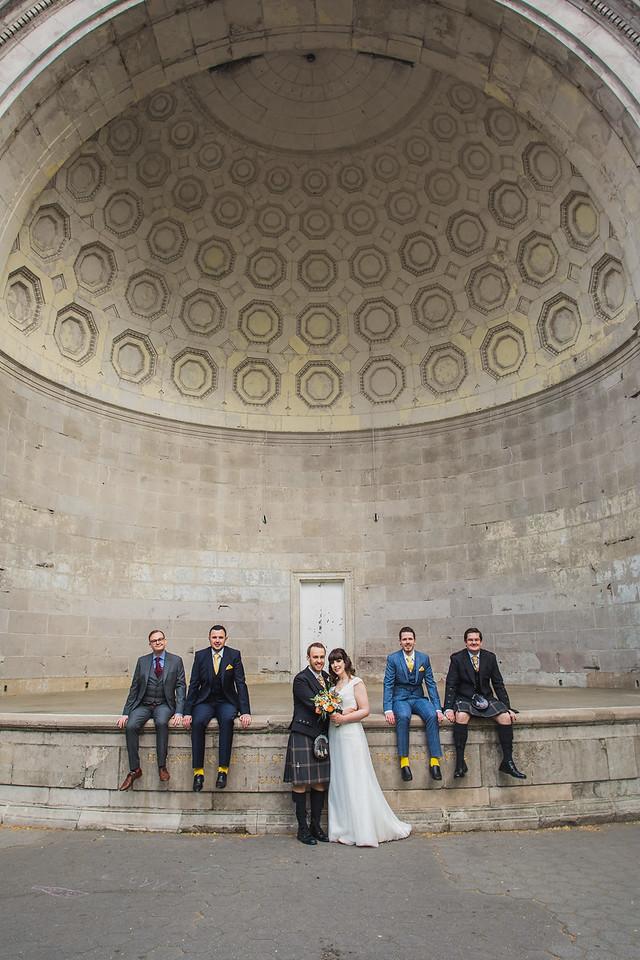 Central Park Wedding - Gary & Kirsty-210