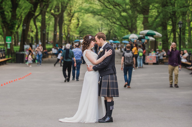 Central Park Wedding - Gary & Kirsty-192