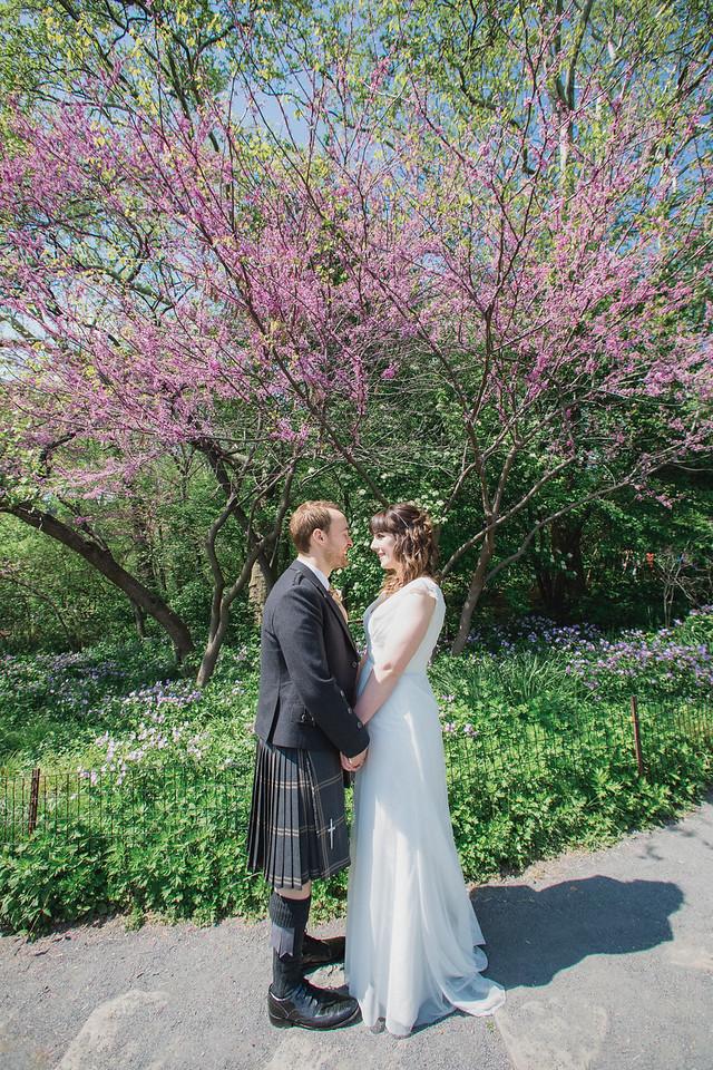 Central Park Wedding - Gary & Kirsty-110
