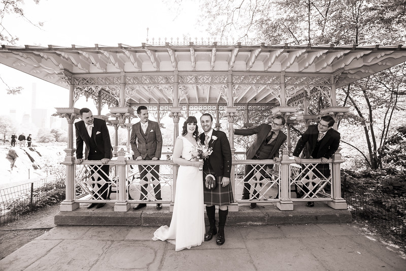 Central Park Wedding - Gary & Kirsty-140