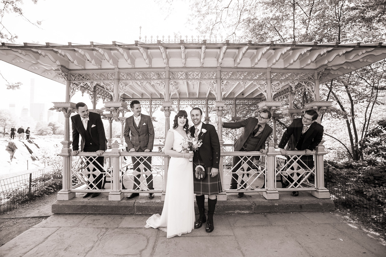 Central Park Wedding - Gary & Kirsty-140