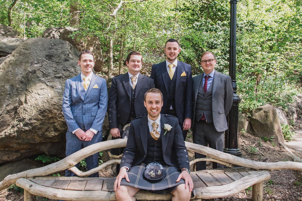 Central Park Wedding - Gary & Kirsty-88