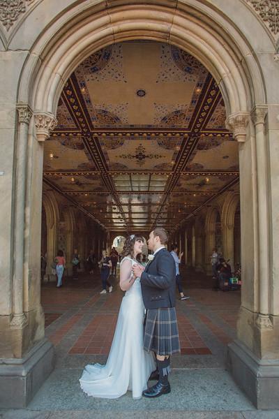 Central Park Wedding - Gary & Kirsty-153