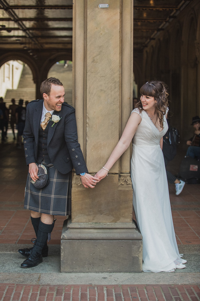 Central Park Wedding - Gary & Kirsty-176