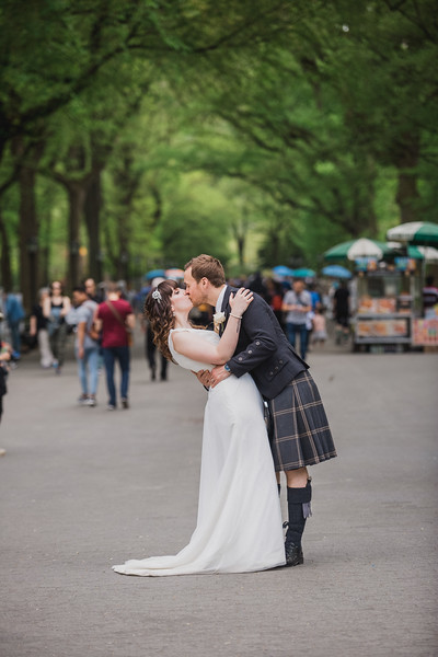 Central Park Wedding - Gary & Kirsty-200