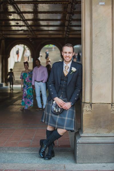 Central Park Wedding - Gary & Kirsty-165