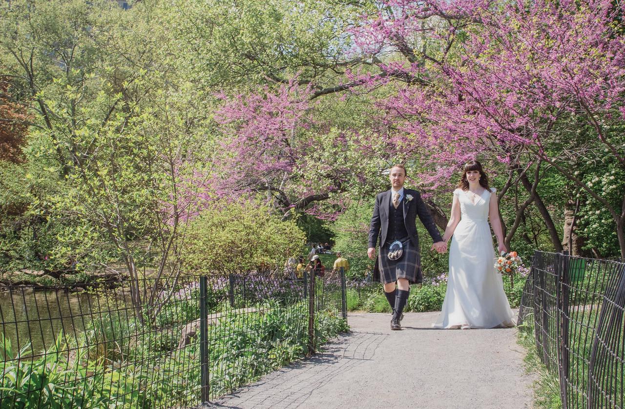 Central Park Wedding - Gary & Kirsty-122