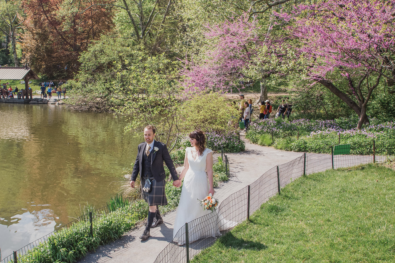 Central Park Wedding - Gary & Kirsty-120