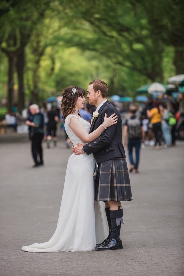 Central Park Wedding - Gary & Kirsty-195