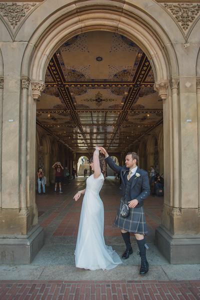 Central Park Wedding - Gary & Kirsty-155