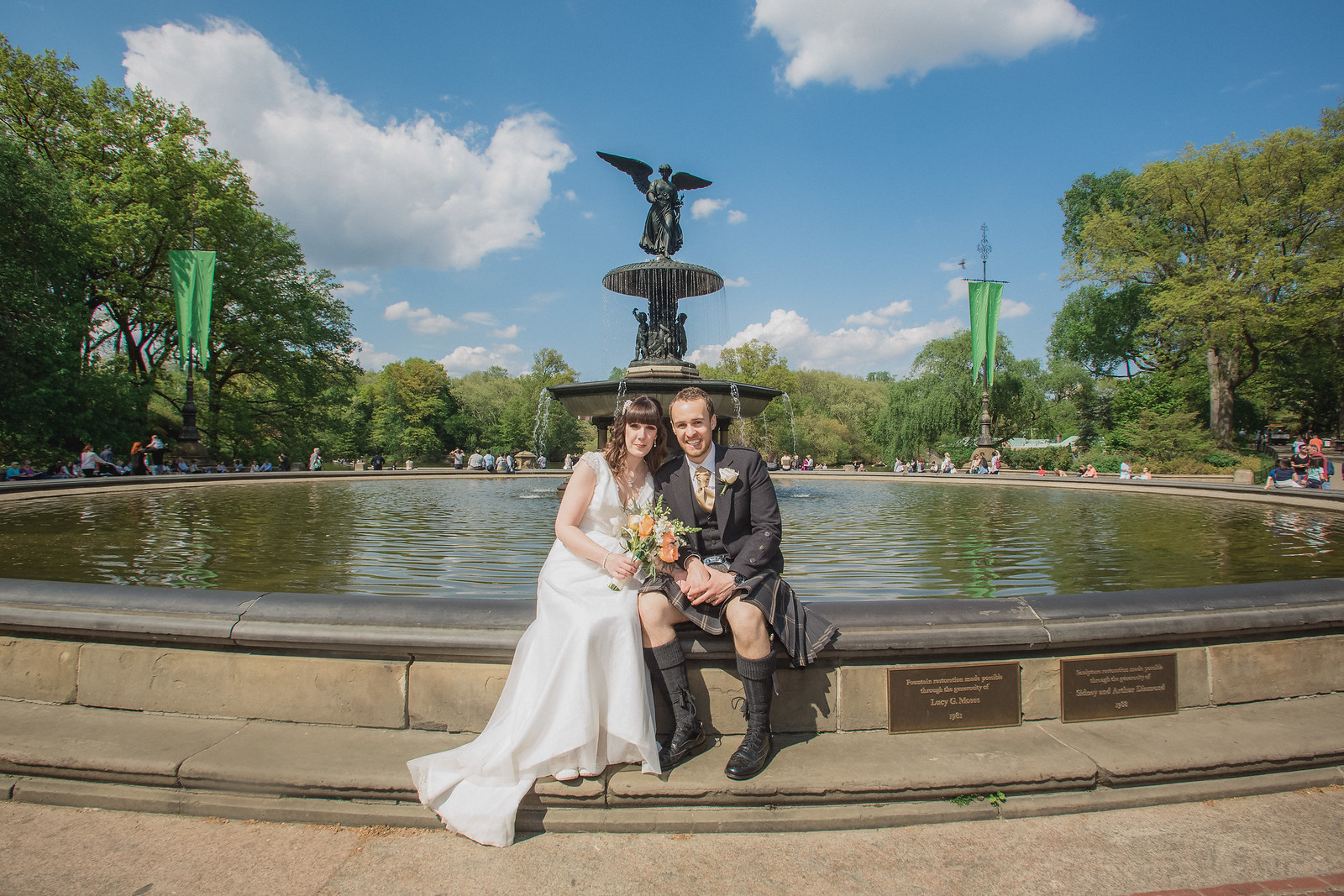 Central Park Wedding - Gary & Kirsty-143