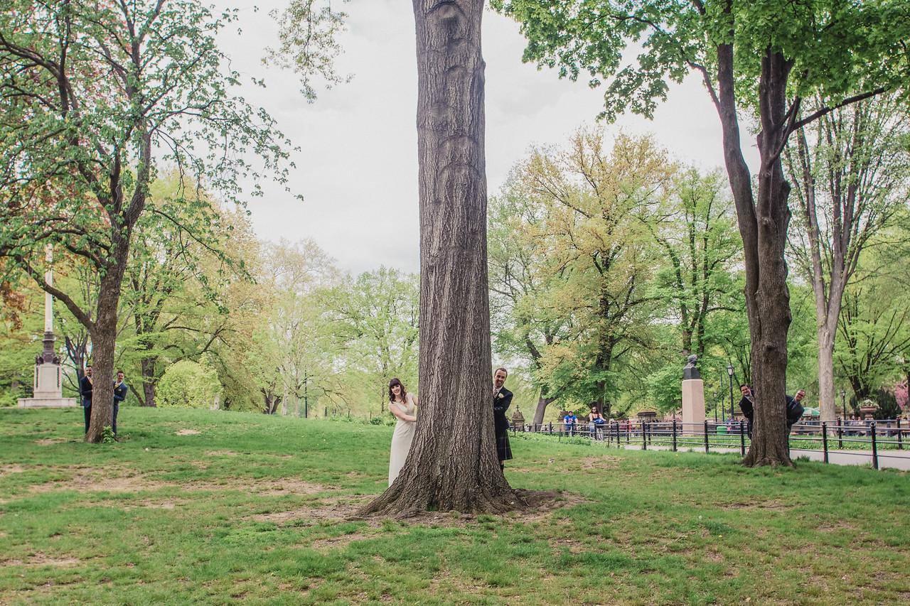Central Park Wedding - Gary & Kirsty-214