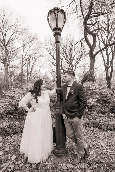Central Park Wedding - Jenna & Kieren-107