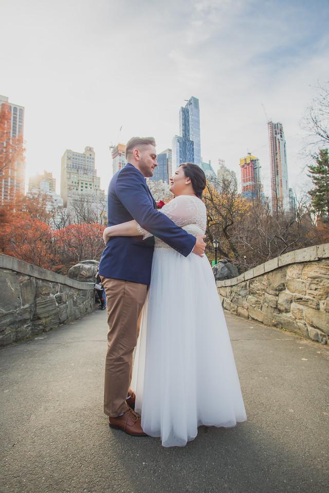 Central Park Wedding - Jenna & Kieren-49