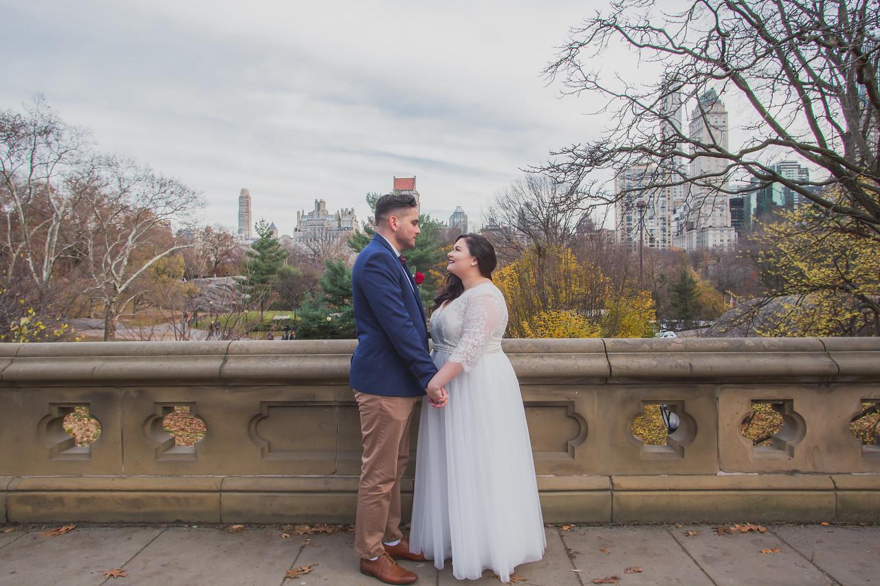 Central Park Wedding - Jenna & Kieren-79
