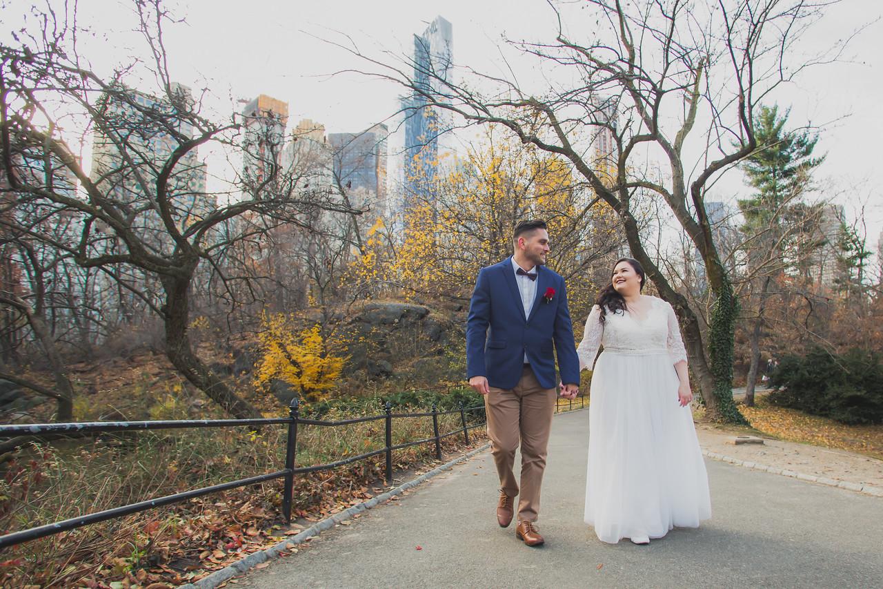 Central Park Wedding - Jenna & Kieren-56