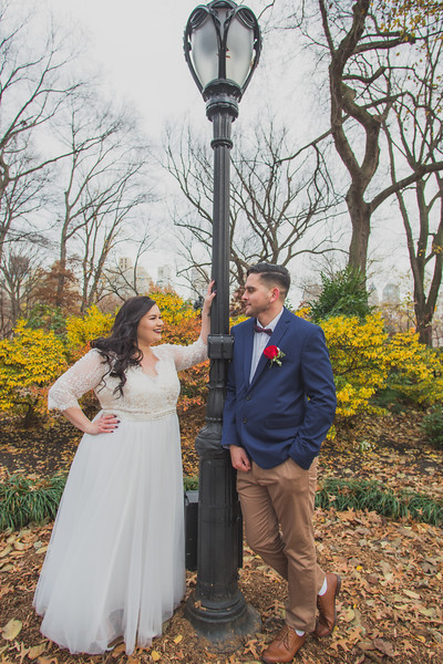 Central Park Wedding - Jenna & Kieren-108