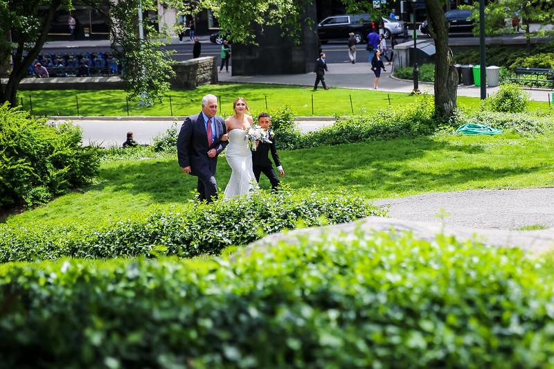 Central Park Wedding - Kristi & Ismael-5