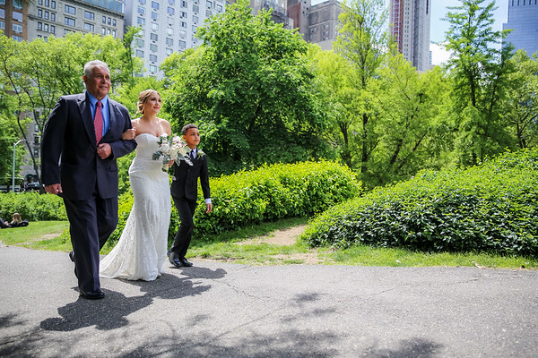 Central Park Wedding - Kristi & Ismael-9