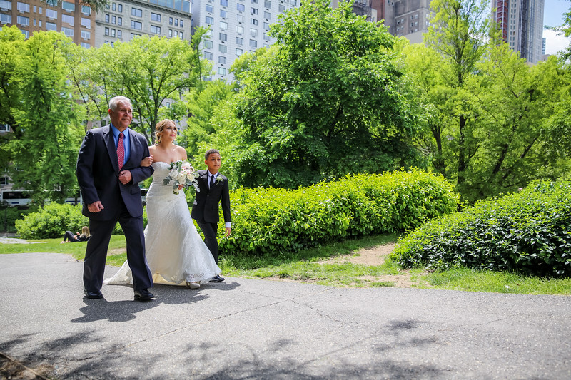 Central Park Wedding - Kristi & Ismael-8