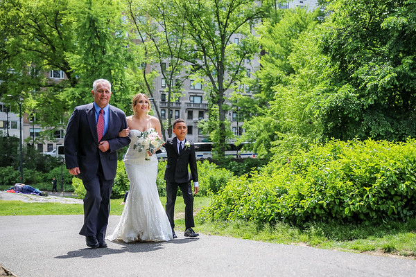 Central Park Wedding - Kristi & Ismael-6