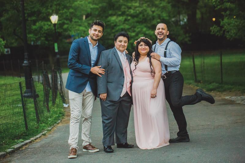 Central Park Wedding - Maria & Denisse-160