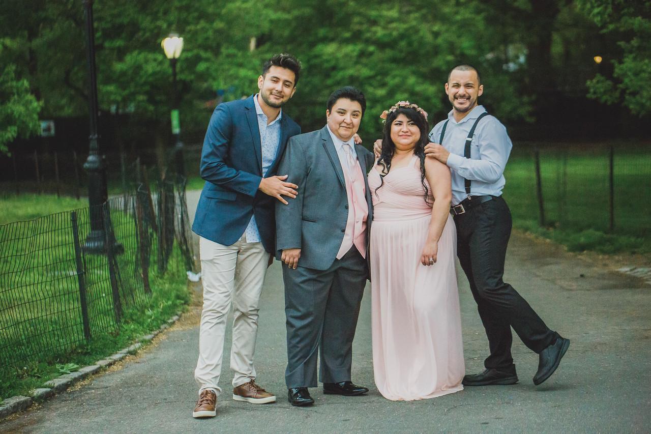 Central Park Wedding - Maria & Denisse-159